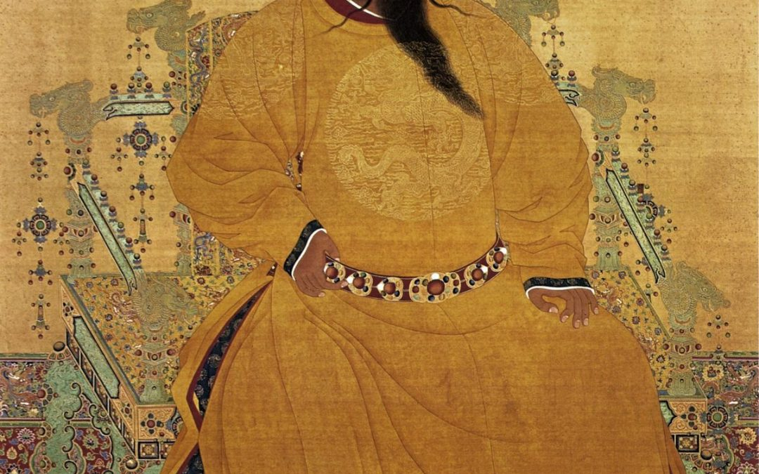 El emperador Zhu Di y los gruñones anti exploración espacial