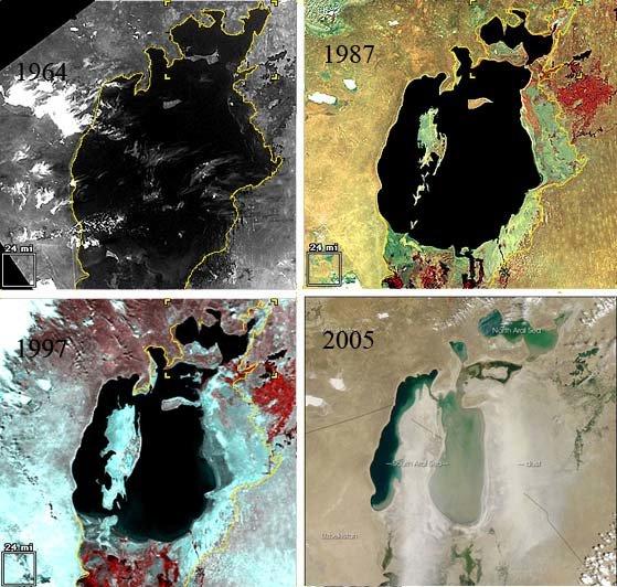 Evolución Mar Aral