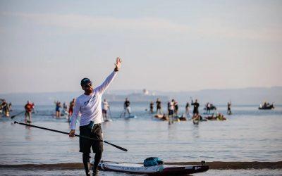 Brendon Prince es ya la primera persona de la historia en rodear Gran Bretaña con una tabla de Paddle Surf