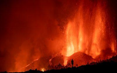 La 'Transvulcania' queda destrozada con la erupción del volcán 'Cumbre Vieja'