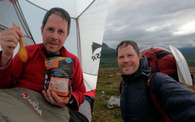 El hombre que ha completado el 'Kungsleden' con tan solo 12 kg de comida