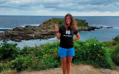 ACTUALIZACIÓN- Sara Vielba alcanza los 355 km a pié en su expedición a través de las montañas pirenaicas